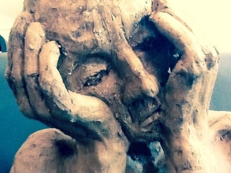 melancholy - sculpture - debglencross | ello