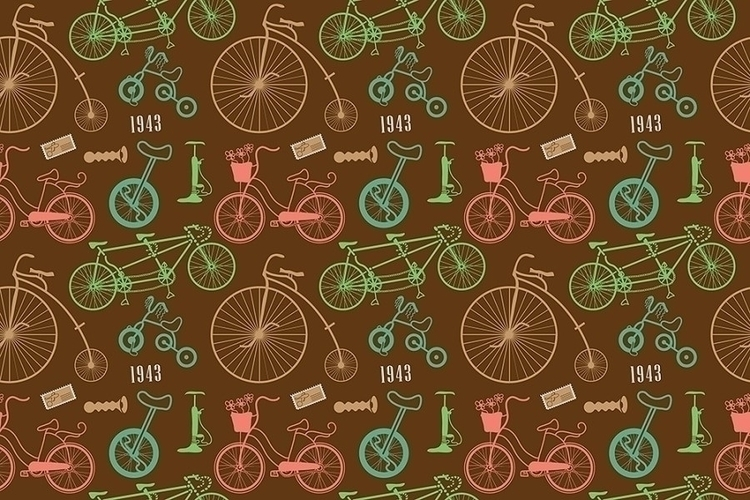 Bicycles - vector, illustration - ololonycolophony | ello