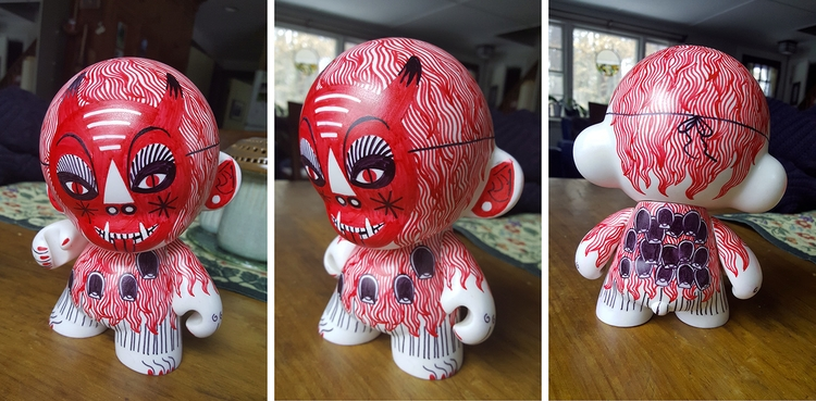 Custom Munny doll - munny, kidrobot - nataliekassirer | ello