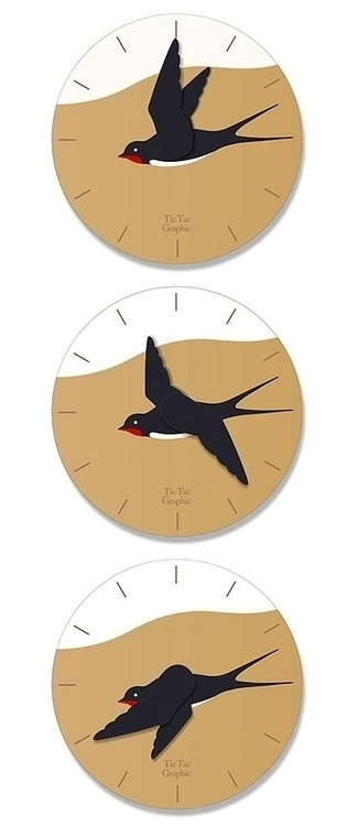 wall hangings clock original de - guraguri | ello