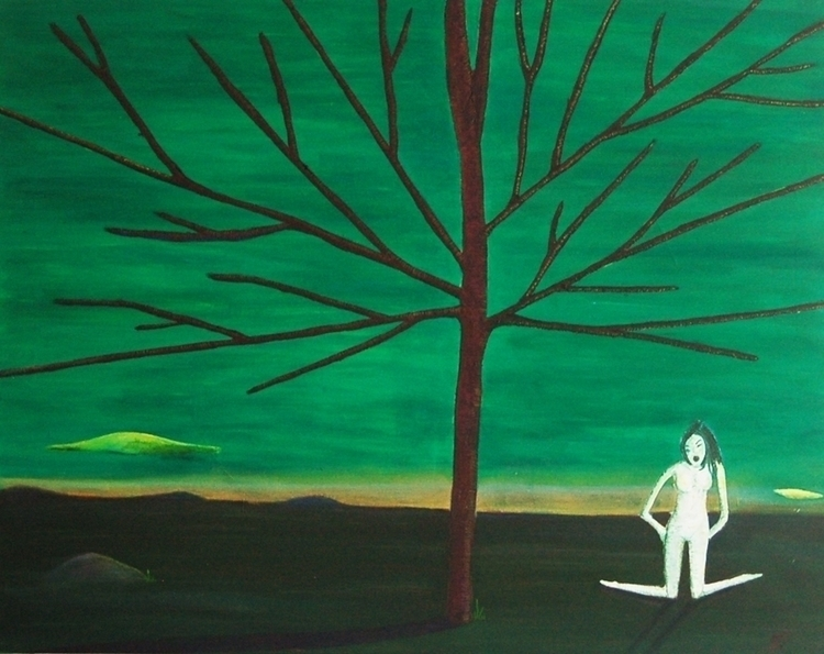 tree woman - green - chonluengo | ello