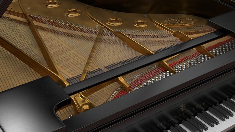 Steinway Grand Piano - Interior - bahr3dcg | ello