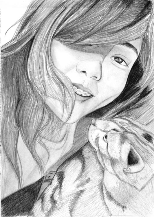 Portrait - portrait, selfportrait - intanhan | ello