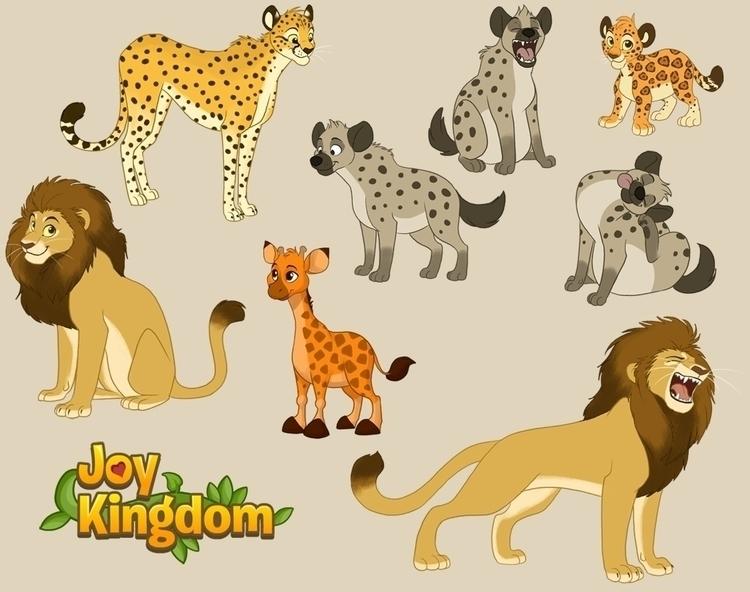 Animal designs Joy Kingdom (Soj - chelseakenna | ello