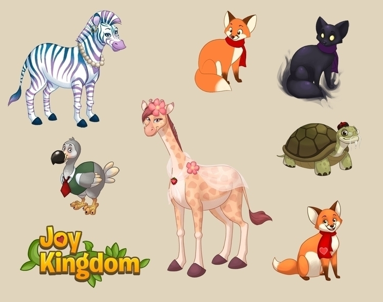 Animal designs Joy Kingdom (Soj - chelseakenna | ello