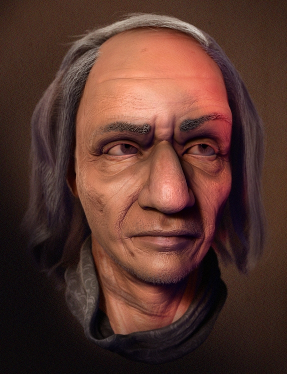 murry - likeness, zbrush - chrix-6251 | ello