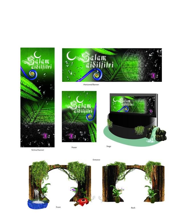 Event Theme design - maisarahsabaruddin | ello