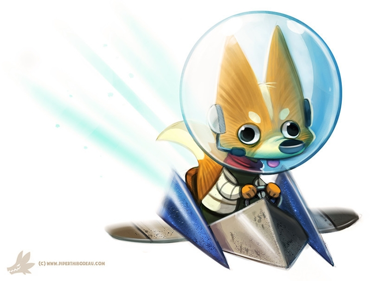 Daily Paint Star Fox Sixty Fouu - piperthibodeau | ello
