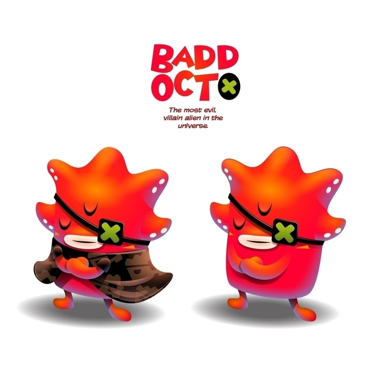 'Badd Octo' villain - characterdesign - gugggar | ello
