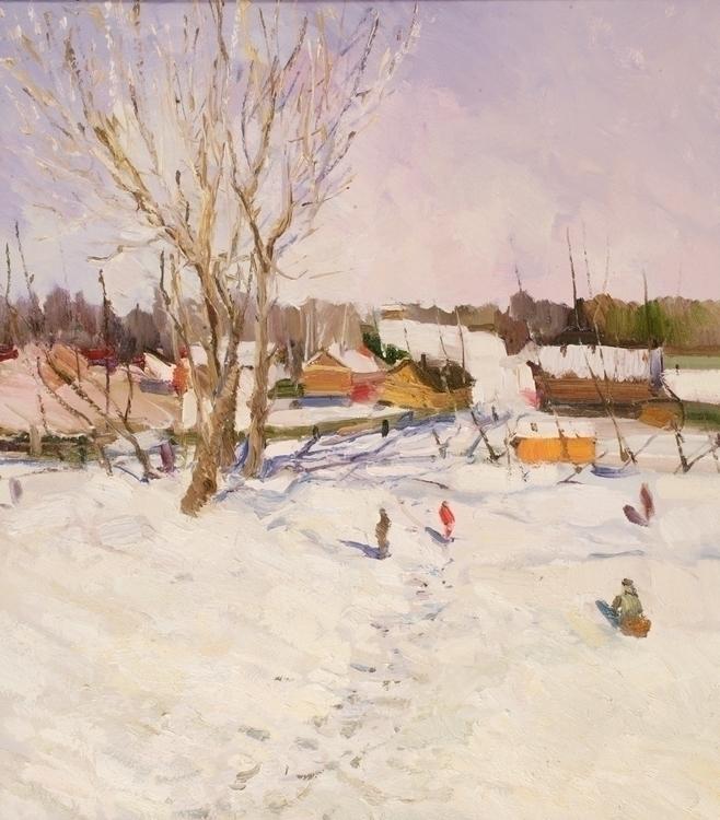 Spring 70/80, Oil / canvas, 201 - antonbogatov | ello
