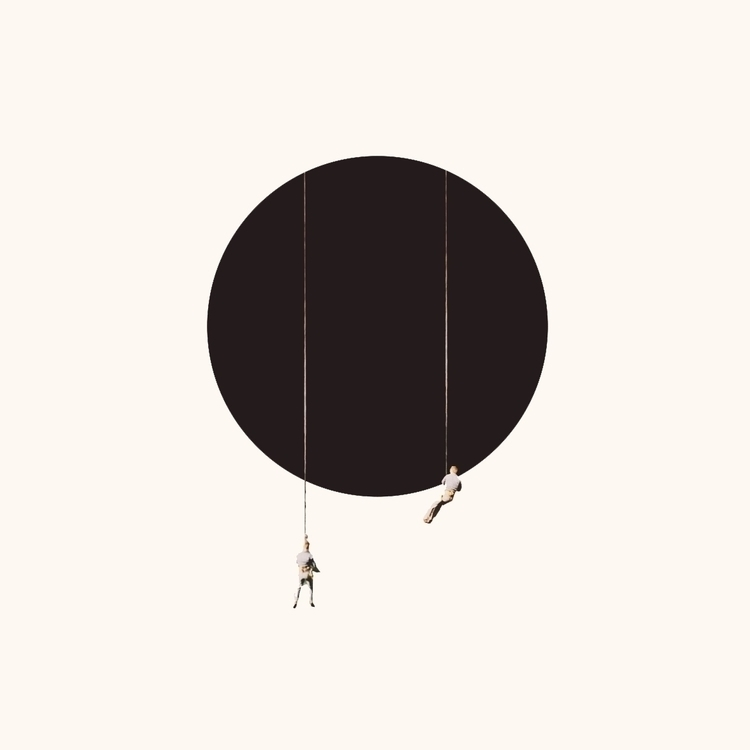 collage, minimal, print, climbing - petermarchant | ello