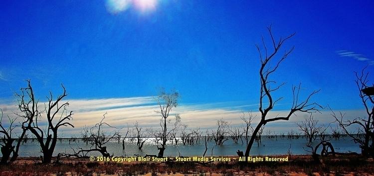harsh landscape - photography, lake - stuartmedia | ello