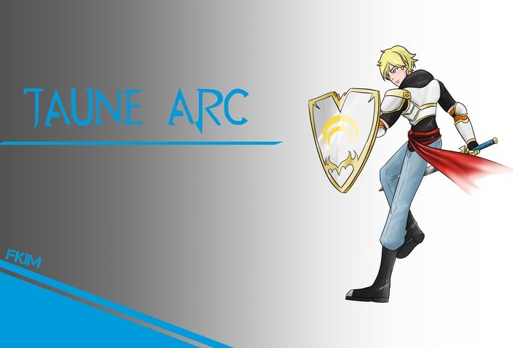 Jaune Arc Timeskip - illustration - fkim90 | ello