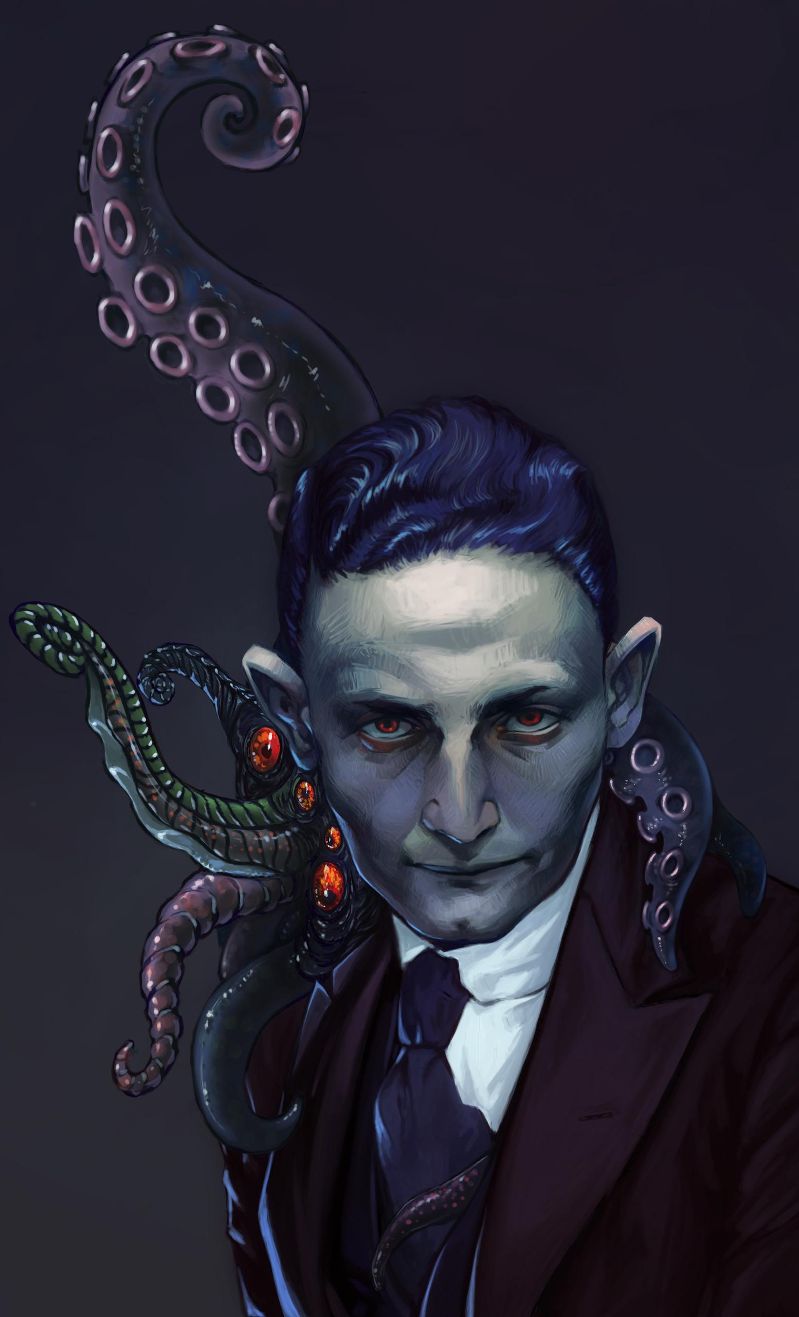 Lovecraft Mugshot - fluorinespark | ello