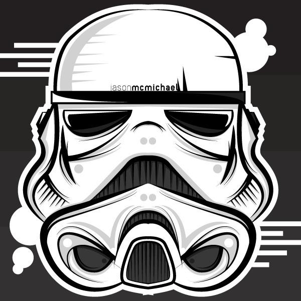 Stormtrooper - stormtrooper, starwars - j_mcmichael | ello