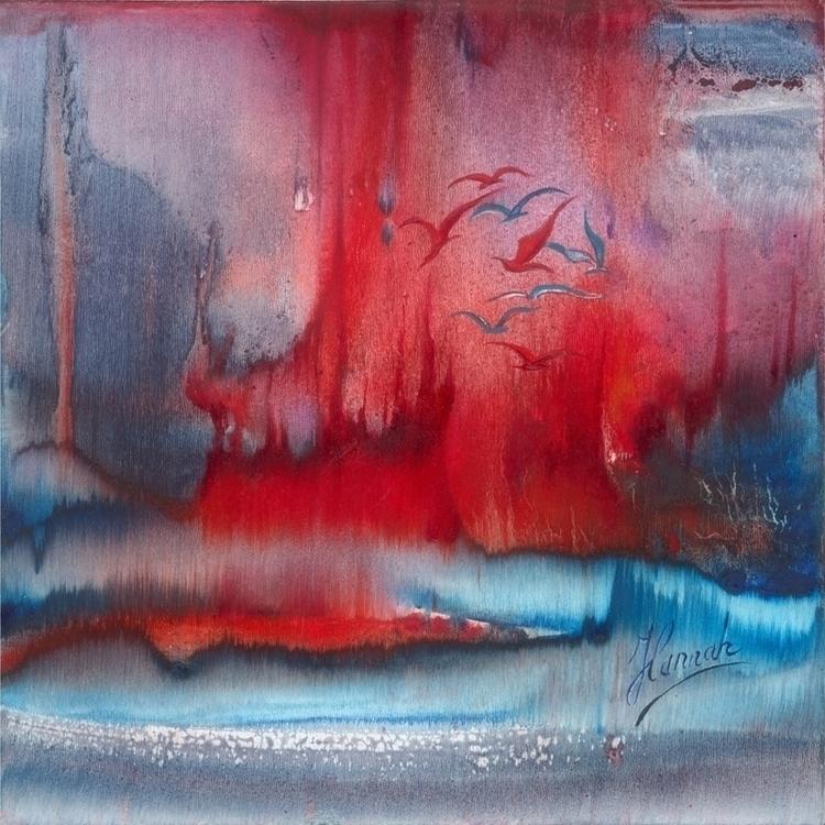 Dance Fire Water- original pain - annahannahart | ello