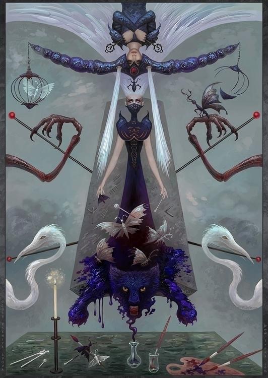 illustration Ritual Merging. Ac - kseniyalvova | ello