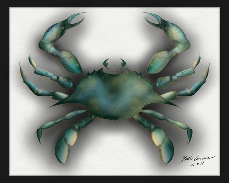Blue Crab - kcowan | ello
