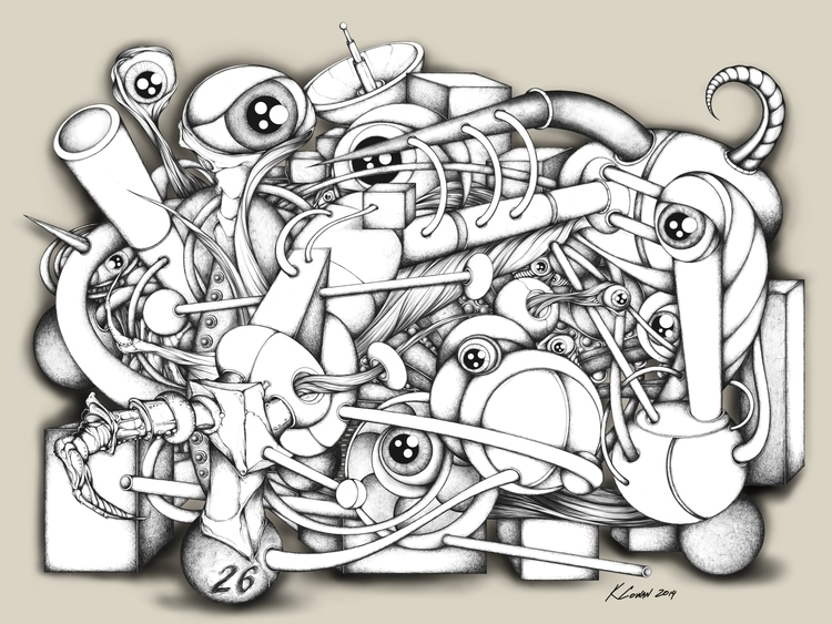 Tangled Mess - kcowan | ello