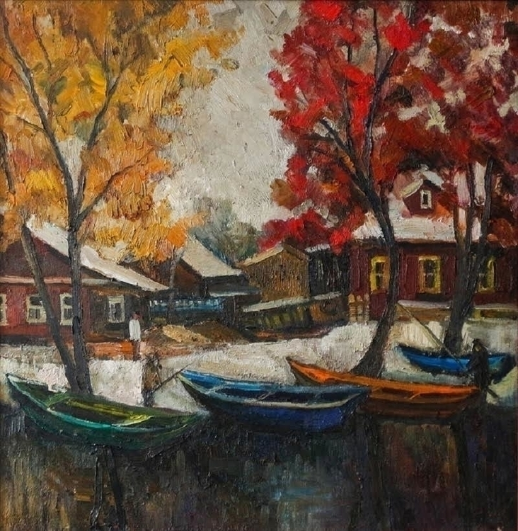 Snow, 55/65, canvas / oil 2015 - antonbogatov | ello