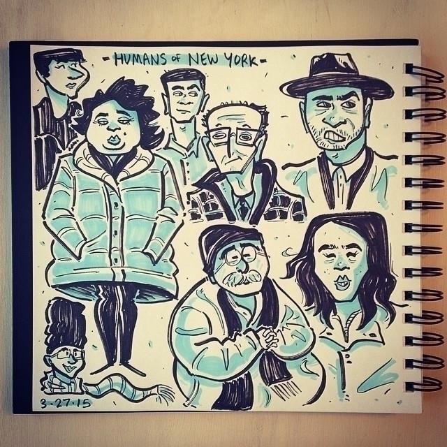 Humans York sketches  - 3, sketch - carolinedirector | ello