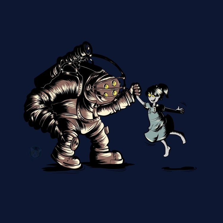 Play Bioshock Fan Art - illustration - doncorgi-7551 | ello