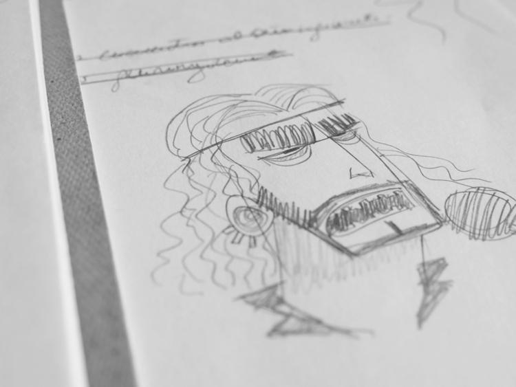 Rockstar sketches 02 - rock, sketch - federicobonifacini | ello
