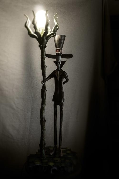 Lamplighter, height: 74cm - 3dprint - fryk | ello