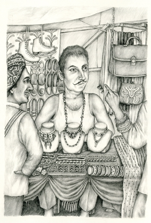 Merchant - illustration, drawing - gerdamartens | ello