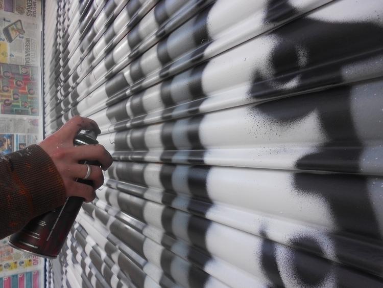 painting, characterdesign, #art#mural#graffiti#streetart#painting - kamanyacosta | ello