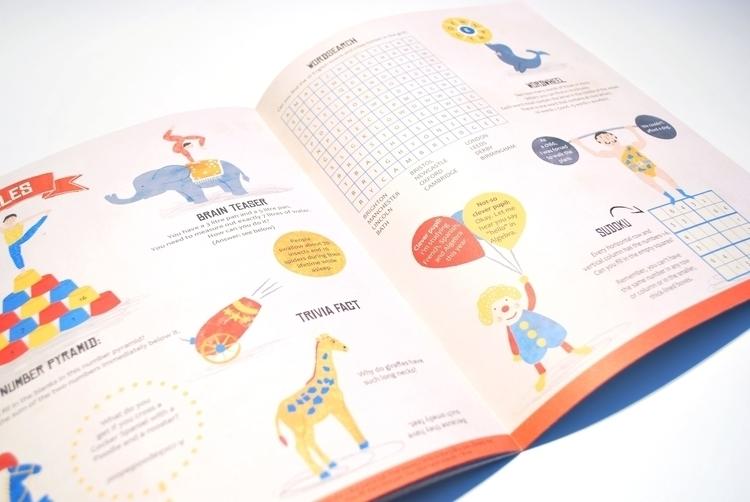 Stew Childrens Magazine Circus  - rachael_guiver | ello