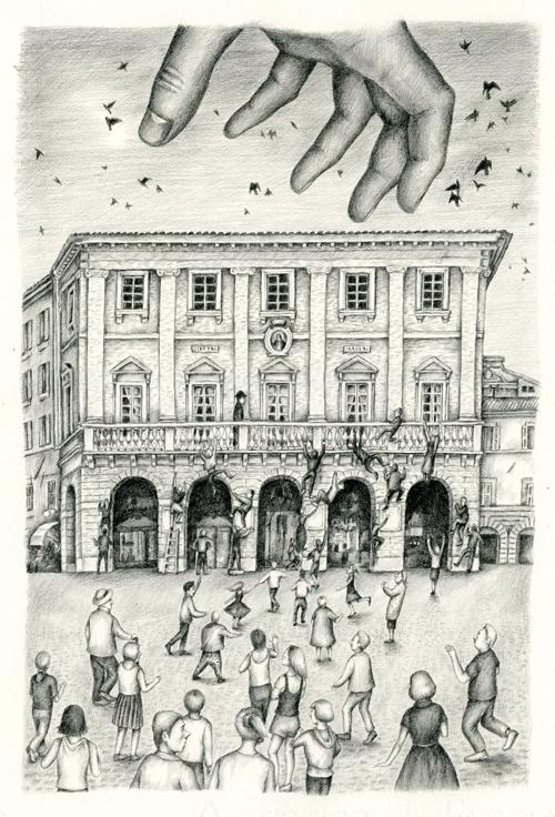 Hand God - illustration, pencil - gerdamartens | ello
