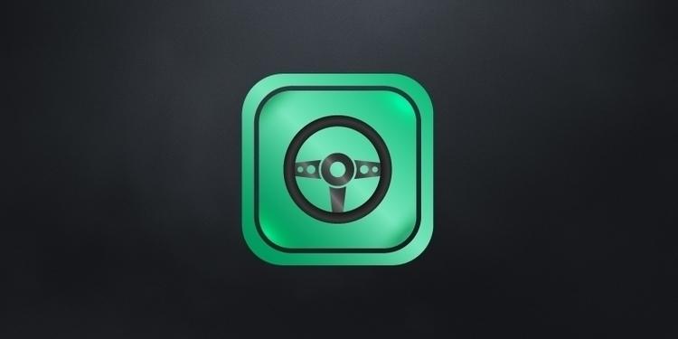 Driving assistant - drive, logo - trialboj | ello