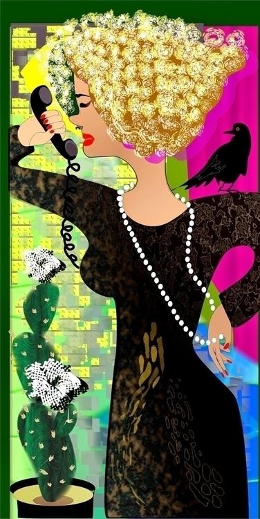 Kaktus flower - kaktus, womanportrait - tattiart | ello