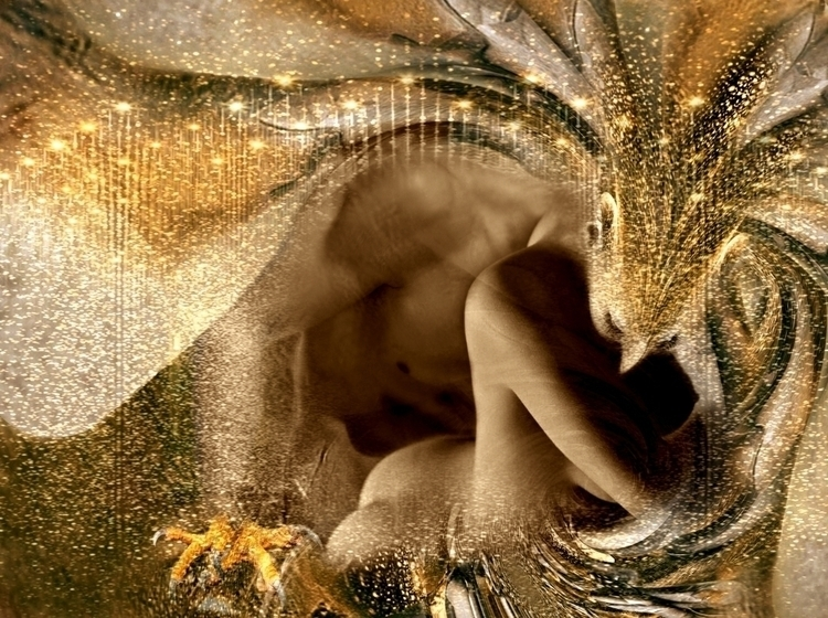 FAIRY - woman, body, digital, nude - carmenvelcic | ello