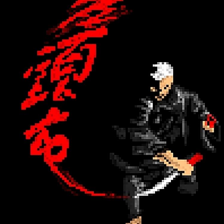 Zatoichi - digitalart, pixelart - theartofsichiu   ello