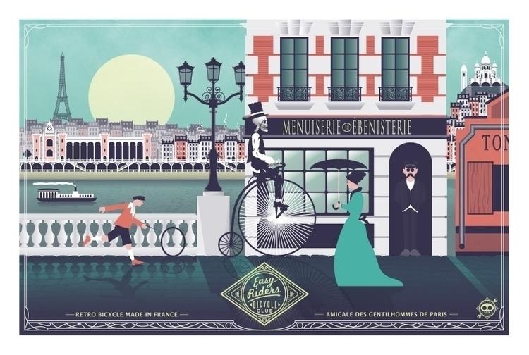 Easy Rider - Paris 1920 project - ladislas-2174 | ello