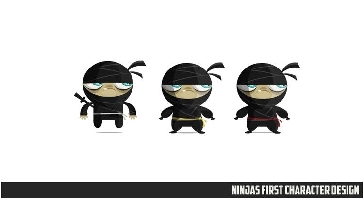 Ninjas Zombies 04 character des - federicobonifacini   ello