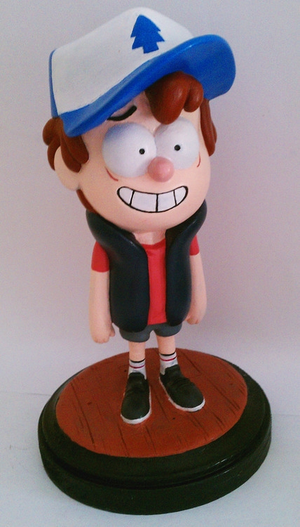Dipper Pines maquette Disney TV - noemisculptures | ello