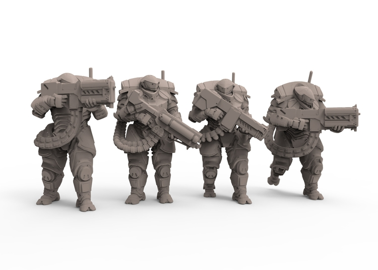 'Talos' 15mm Figure Range - 3d, characterdesign - adamrodgers-1139 | ello
