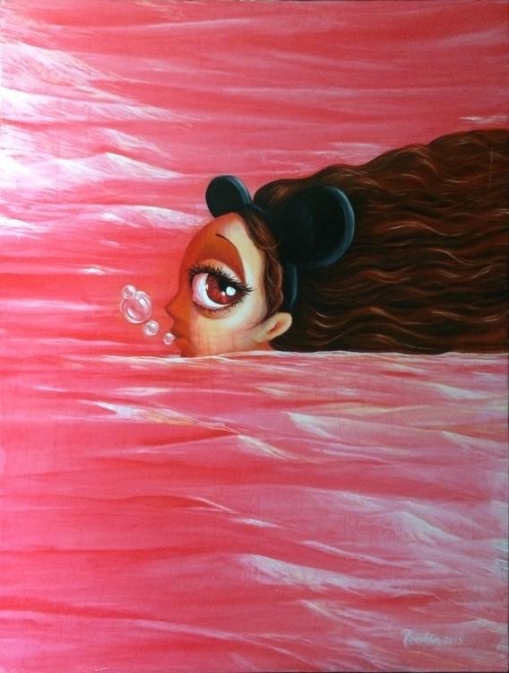 DUBBLE 2015. Acrylics canvas. 3 - eliasroedan | ello