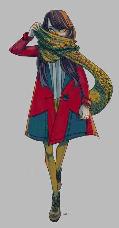 character - luei | ello