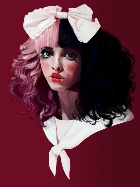 Melanie Martinez - illustration - solmary1993 | ello