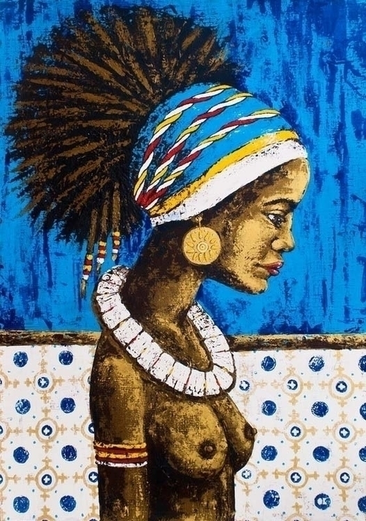CUBA acrylic canvas, 70x100 cm - ogel | ello