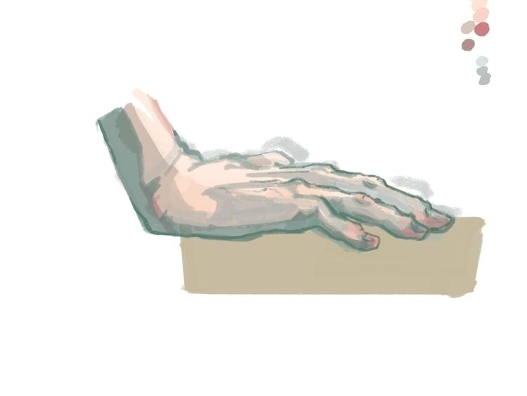 digital Life Drawings. 30-45 mi - paperbag-3414 | ello