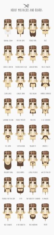 Character design - Moustaches b - federicobonifacini   ello