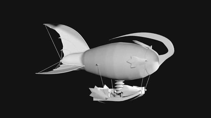 El segundo Modelo en 3D realice - frogx4 | ello