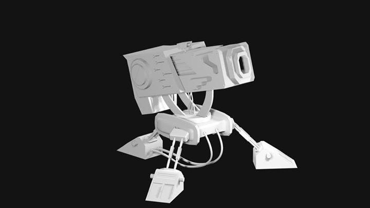 Una torreta para pequeño trabaj - frogx4 | ello