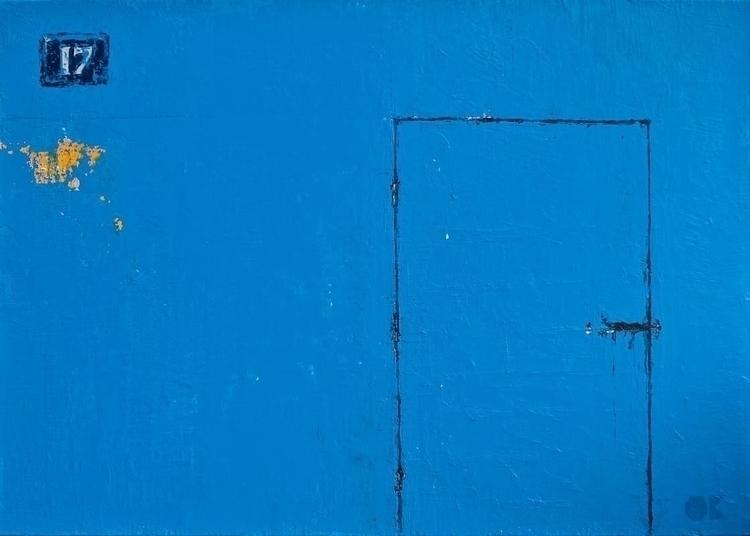 17 acrylic canvas, 70x50 cm, 20 - ogel | ello