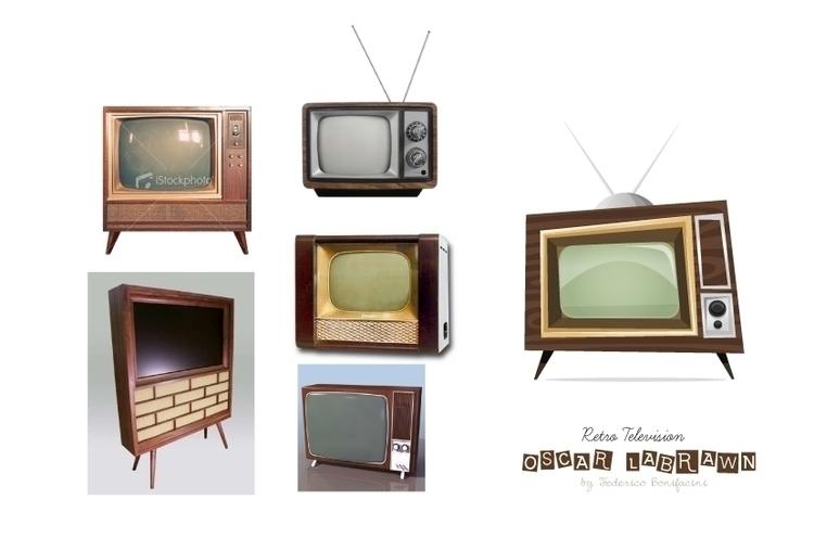 Oscar Labrawn tv - props - federicobonifacini | ello